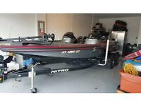 2015 Nitro Z8 Bass Boat