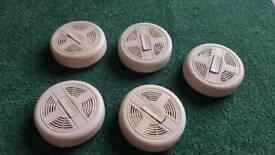 5 x Alert Smoke Detectors