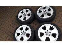 Genuine audi vw alloy wheels 17 inch