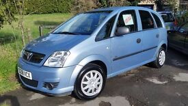 2008/58 Vauxhall Meriva Life 1.6 Petrol Blue
