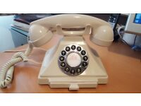 GPO Carrington Classic Retro Telephone - Ivory Cream