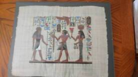 Egyptian pictures set of four
