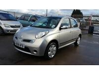 2008 nissan micra 1.2 petrol 5 door hatchback 12 months mot genuine low mileage