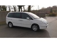 7 seater Peugeot, 807, MPV, 2009, Manual, 1997 (cc), 5 doors
