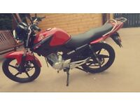 Yamaha 125cc motorbike in great condition, 2013