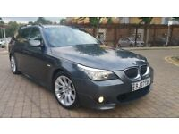 BMW 525D 3.0 DIESEL M-SPORT AUTO,LCIMODEL, TOURING MINT CONDITION PX WELCOME