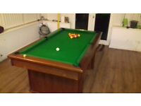Pool Table (Dining Table)