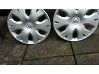 "Renault 15"" wheel trims"