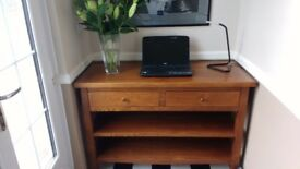 Console Table - High Quality Oak in Excellent Condition