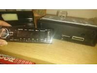 Bluetooth, USB, AUX car stereo