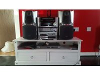 Hifi and cabinet for sale