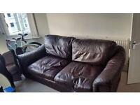 Free leather sofa- urgent