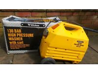130 BAR HIGH PRESSURE WASHER WITH CART
