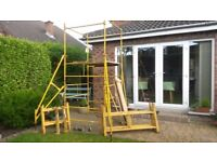 Steel Scaffolding Set ideal for trade or DIY user - £150