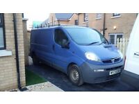 2004 Vauxhall Vivaro van 1.9 cdi LWB. Not ford transit, vw, traffic, Mercedes,