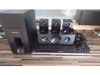 PANASONIC SC-BTT405EBK 5.1 Smart 3D Blu-ray Home Cinema System (600 watts) rrp £299 @ Currys