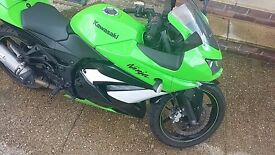 Kawasaki Ninja 250R 2009 7000 miles SPECIAL EDITION great condition
