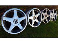 """16'Classic wheels Alloys""""AZEV A""""4x100 width J7,5/J9 ET20/ET15"""