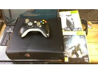 Slim Xbox 360 250gb and wifi with two games
