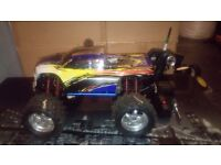 RC NITRO 1:8 SCALE TRAXXAS TMAXX MONSTER TRUCK THAT HAS BEEN TESTED AND TUNED BY US