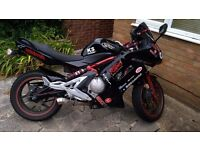 Kawasaki ER6F 2006. Low Miles- 1600 Miles. Long MOT. Lots of Extras fitted. £1800 ONO