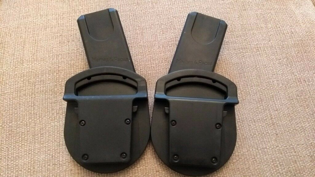 Mamas & Papas / Maxi-Cosi / Maxi Cosi Baby Carrier Seat Adapters * Great condition *