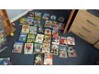 32 childrens dvds