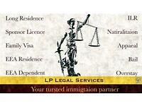 ImmigrationSpecialist- Visa service -Tier 1,Tier 4,Tier 5,ILR, EEA Family Visa, Bail, Appeal, FLR