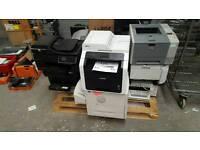 Joblot of 8 laser printers HP brother samsung