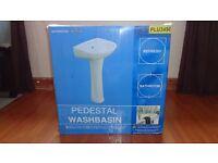 Pedestal & Wash Basin New in Box