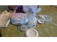 breast pump phillips avent electric