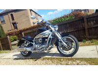 Hyosung GV650 Low milage,12months MOT,exhaust can modified