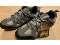 GOLA Outdoor Shoes Size 6 UK. Colour - Grey, Purple and Black. Brand New and Unworn and boxed