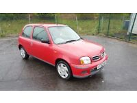 **AUTOMATIC** 2002 Nissan Micra S 1.0 Petrol 58000 Miles Only 1 Previous Owner.....