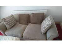 2 seater comfy sofa, cushion covers washable