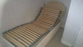 Single Electric Bed with Mattress
