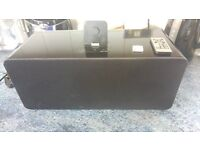 IPHONE 4s DOCK WITH SPEAKER, 5s ADAPTOR AND REMOTE CONTROL