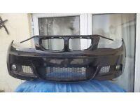 BMW 1 SERIES - MSPORT - FRONT BUMPER - E82/E88 - COMPLETE - BLACK