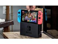 Nintendo Switch Neon Red/Blue