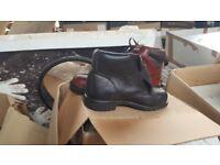 Work boots job lot x 200 pairs