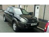 05 PLATE HYUNDAI TUCSON. 4X4. 2 LITRE TURBO DIESEL. IDEAL FAMILY CAR