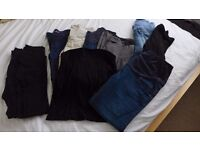 Maternity Petite Jeans, Trousers, Skirt, Leggings and Tights Size 8 / Size 10 / Size 12 Bundle