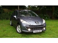 PEUGEOT 207 SE 1.4 PETROL MANUAL ++5 DOOR++F/S/H++STUNNING CONDITION++IDEAL FIRST CAR++