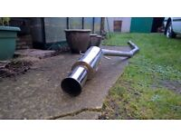 MK1 Ford Fiesta Custom Stainless Exhaust System