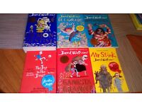 David walliams set of 6 books £7.00 for all