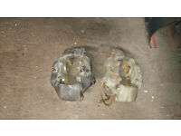 Land rover Discovery 300 tdi front brake calipers, used