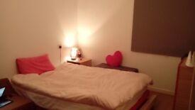 double bedroom Avail 17 April-375 rent Gorgie-new flats-no smoker no boys