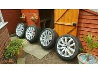 Landrover/rangerover 20 inch alloy wheels. Set of 4