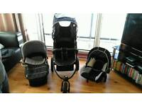 Hauck viper 3 in 1 travel system