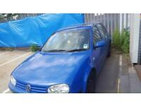 VW GOLF MK4 1.4 PETROL MANUAL 2001 BLUE